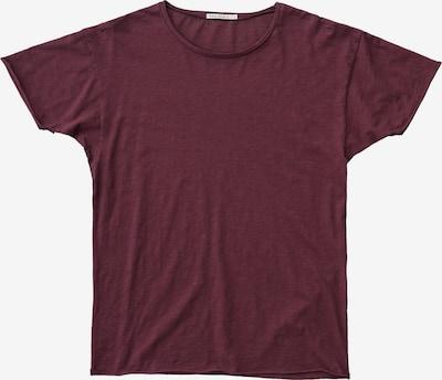 Nudie Jeans Co T-Shirt ' Roger Slub ' in weinrot, Produktansicht