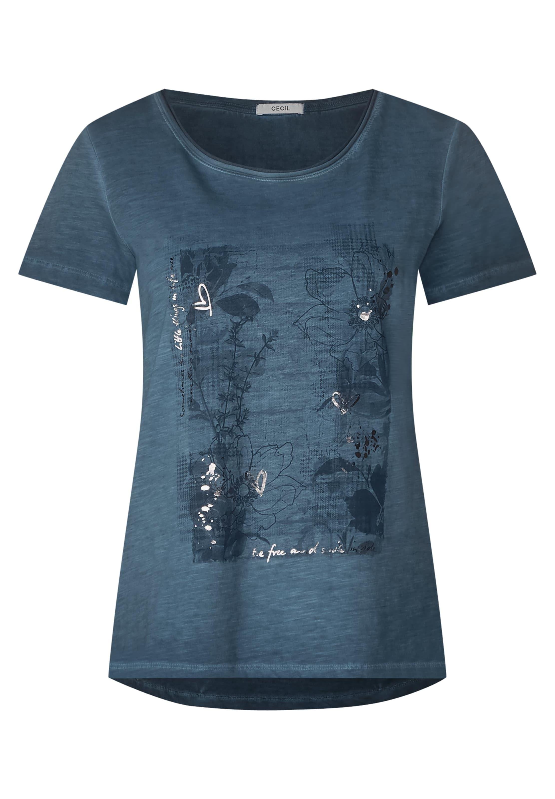 Silber Cecil Shirt Silber Cecil BlaumeliertAnthrazit In Shirt Shirt Cecil In BlaumeliertAnthrazit IEHWD29