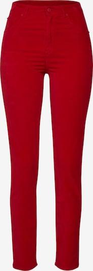 Pantaloni 'Savelvia-D' BOSS pe roșu: Privire frontală