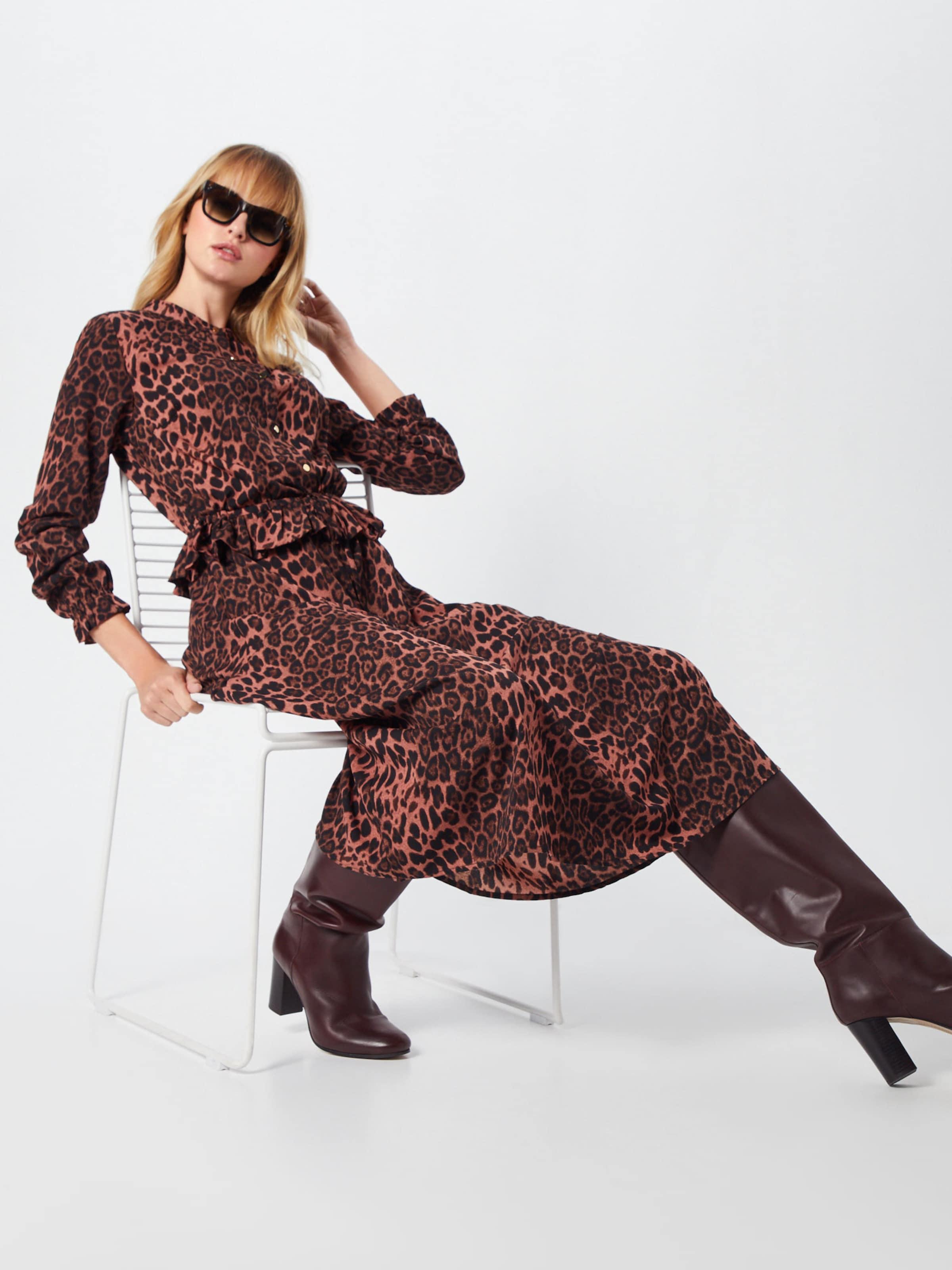 Rouge Robe Schnoor chemise 'maggie' Sofie En RouilleNoir 8n0mNw