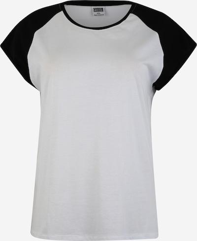 fekete / fehér Urban Classics Curvy Póló, Termék nézet