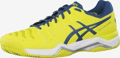 ASICS Tennisschuhe 'Gel-Challenger 11 Clay' in dunkelblau / gelb, Produktansicht