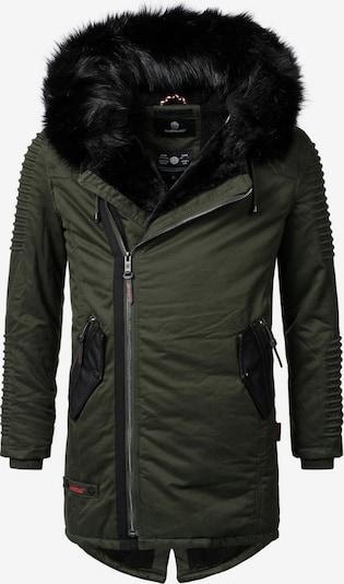 MARIKOO Wintermantel 'Osaka' in khaki, Produktansicht