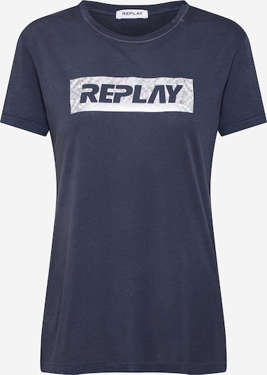 REPLAY T-Shirt in schwarz, Produktansicht