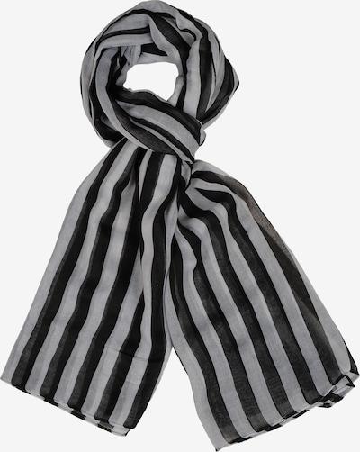 Silvio Tossi Schal in schwarz / weiß, Produktansicht