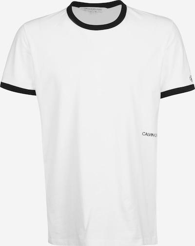 Calvin Klein Jeans Shirt in de kleur Zwart / Wit, Productweergave