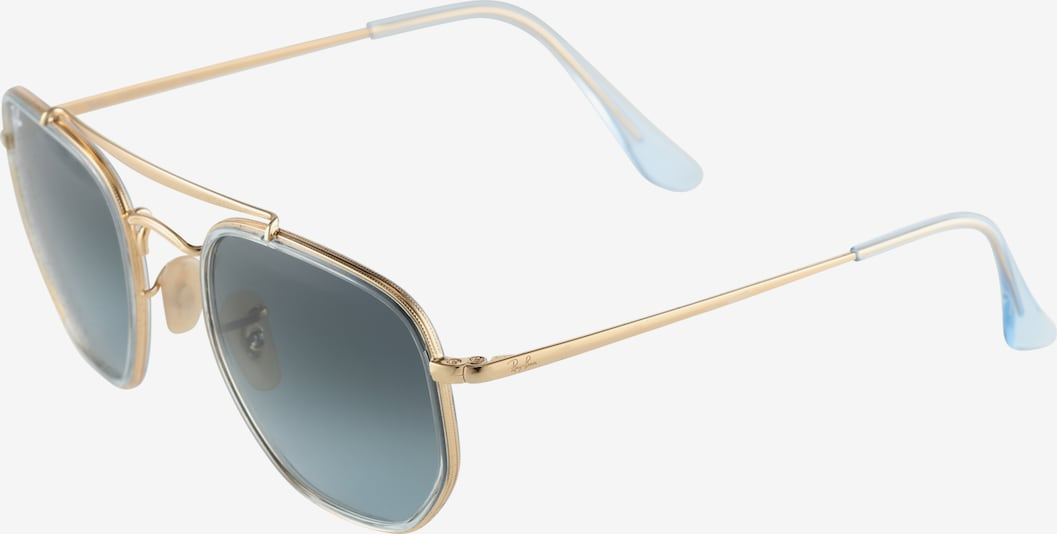 Ray-Ban Sonnenbrille 'THE MARSHAL II' in hellblau / gold, Produktansicht