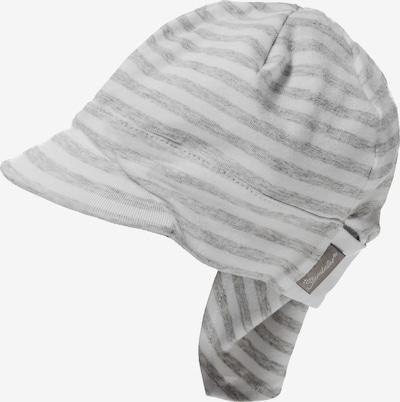 STERNTALER Kopftuch in grau / weiß, Produktansicht