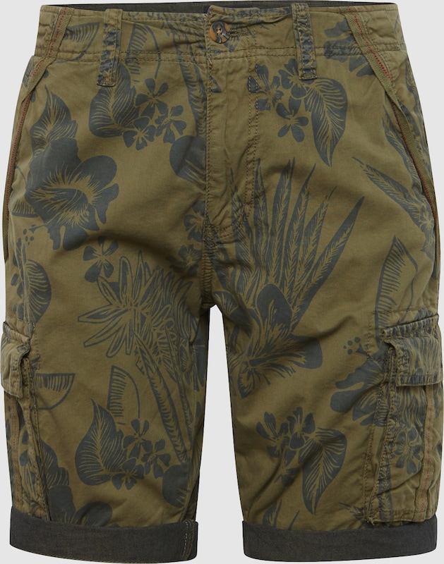 INDICODE JEANS Shorts 'Prince Albert' in dunkelgrün  Neue Kleidung in dieser Saison