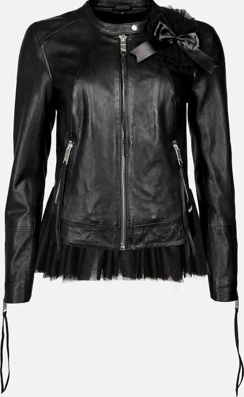 Maze Maze Maze Lederjacke 'Caalina ' in schwarz  Mode neue Kleidung 1d564e