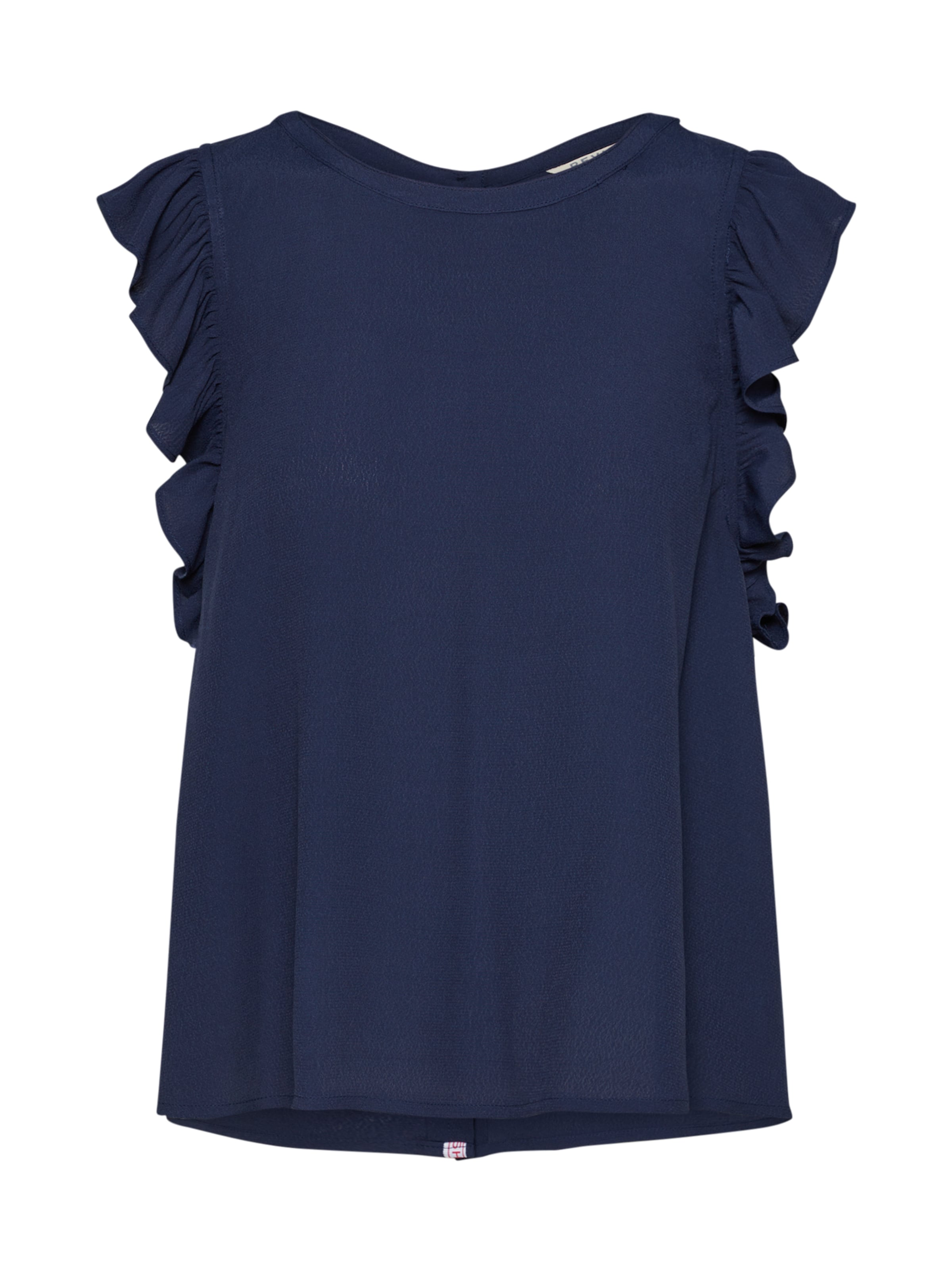 Review Navy 'capsleeve In Bluse Blouse' Nn8vm0w