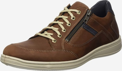 JOMOS Sneaker in navy / karamell, Produktansicht