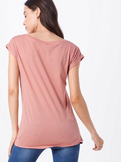 Marškinėliai 'It Hasi' iš Iriedaily , spalva - persikų spalva / omarų spalva: Vaizdas iš galinės pusės