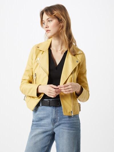 OAKWOOD Lederjacke 'Phoebe' in gelb, Modelansicht
