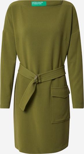 UNITED COLORS OF BENETTON Robe en olive, Vue avec produit