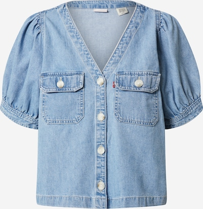 LEVI'S Bluse 'BRYN' in blue denim, Produktansicht