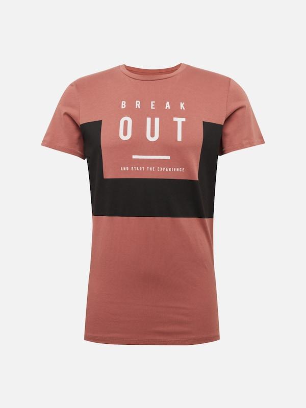 s shirt En Rouille Rouge T Designed Noir By Q dw4xdO