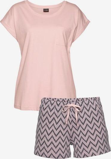 VIVANCE Schlafanzug in grau / rosa, Produktansicht