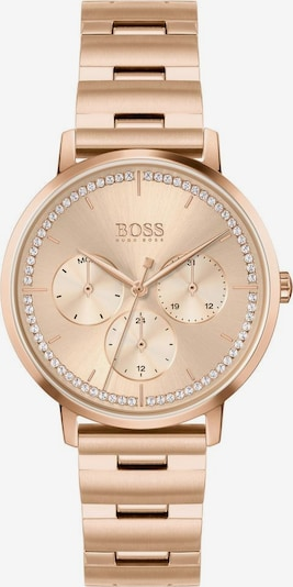 BOSS Analog watch 'PRIMA' in rose gold / white, Item view
