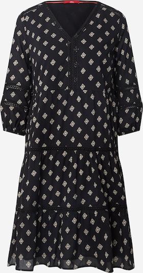 s.Oliver Košulja haljina u crna / bijela, Pregled proizvoda