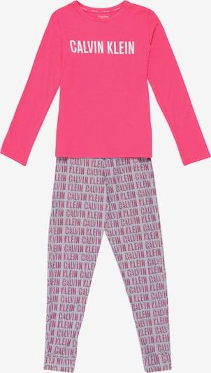 Calvin Klein Underwear Schlafanzug 'KNIT PJ SET' in beere, Produktansicht