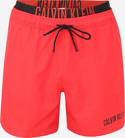 Calvin Klein Swimwear Badeshorts in rot, Produktansicht