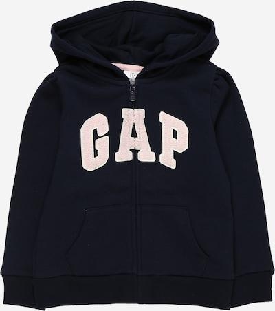 GAP Sweatjacke in dunkelblau / hellpink, Produktansicht