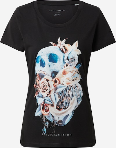 EINSTEIN & NEWTON Shirt 'Sky Skull' in mischfarben / schwarz, Produktansicht