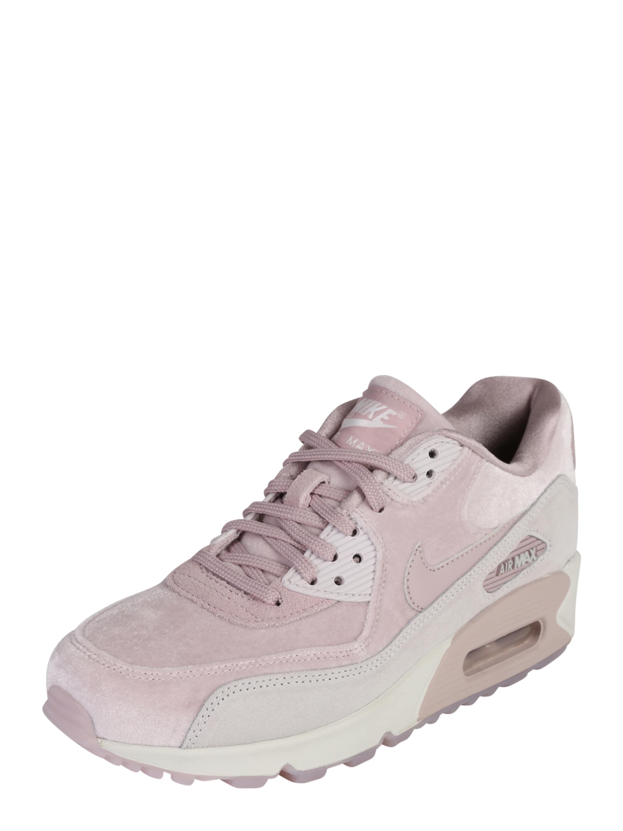 Chaussures De Sport Nike Bas « Air Max Gris / Rosa » 90 Lx W0ykdup