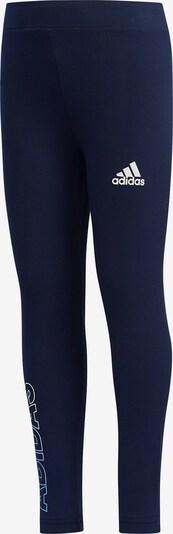 ADIDAS PERFORMANCE Sporthose in navy / weiß, Produktansicht