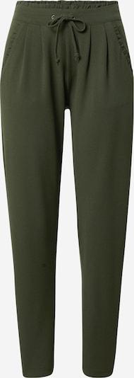 JACQUELINE de YONG Pantalon à pince 'Catia' en vert foncé, Vue avec produit