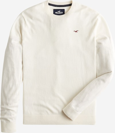 HOLLISTER Sweter w kolorze białym, Podgląd produktu