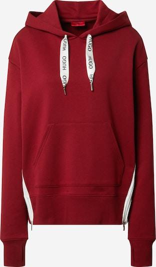 HUGO Sweatshirt 'Dreali' in blutrot, Produktansicht