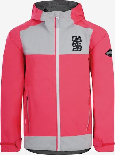 DARE 2B Jacke 'Renounce' in hellgrau / pink, Produktansicht