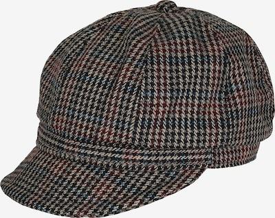LOEVENICH Bakerboy-Mütze in beige / blau / hellgrau / pastellrot / schwarz, Produktansicht