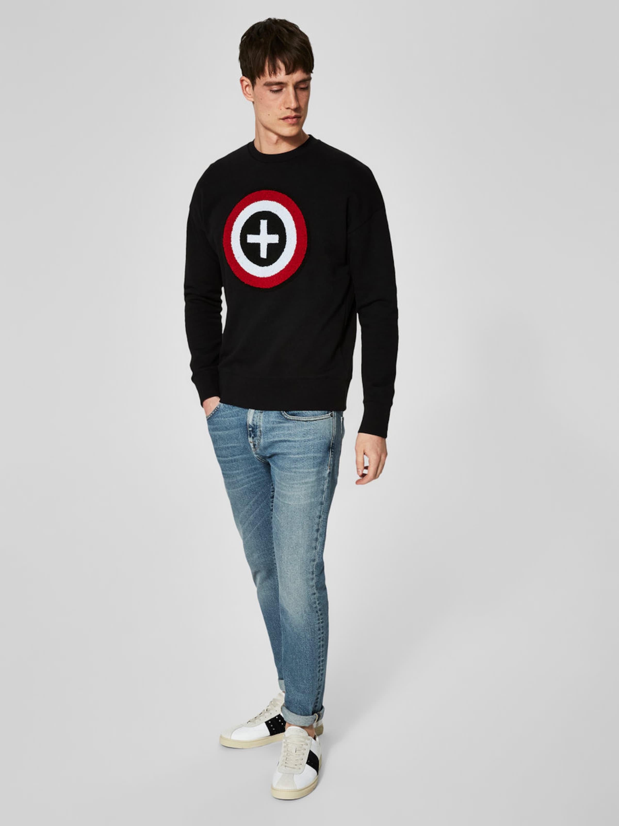 SELECTED HOMME Schlichtes Sweatshirt Freies Verschiffen Authentische jMlMqt