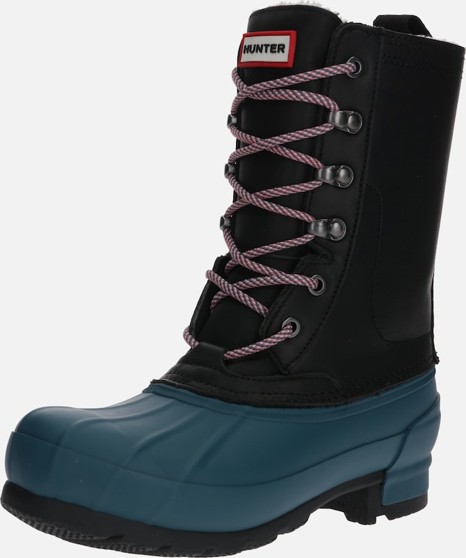 HUNTER Stiefel 'INSULATED PAC BOOT' in dunkelblau / schwarz, Produktansicht