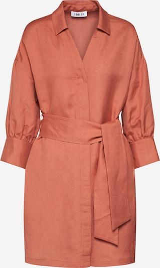 Rochie tip bluză 'Youko' EDITED pe maro / portocaliu închis, Vizualizare produs