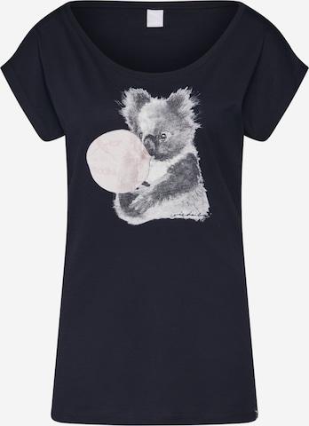 Iriedaily Shirt 'Koala Bubble Tee' - Čierna