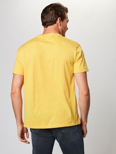 POLO RALPH LAUREN T-Shirt '26/1 JERSEY-SSL-TSH' en bleu / jaune: Vue de dos