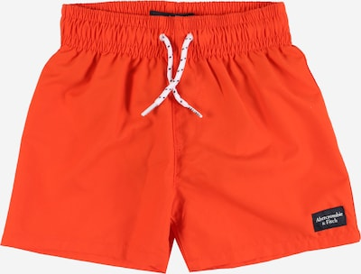 Abercrombie & Fitch Badehose in orangerot, Produktansicht