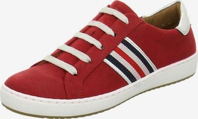 Jenny Sneaker in dunkelblau / rot / pastellrot / silber / weiß, Produktansicht
