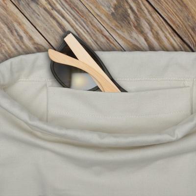 Krepšys-maišas 'Luke' iš Johnny Urban , spalva - rožinė / balta: Vaizdas iš viršaus