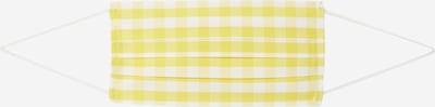 Mască de stofă Ekn pe galben / alb, Vizualizare produs