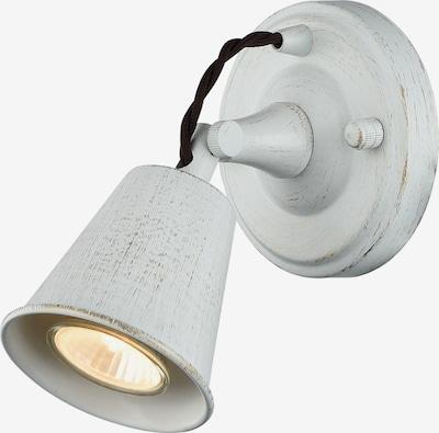 FAVOURITE Loft-Wandleuchte 'Glocke' in weiß, Produktansicht