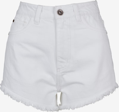 Urban Classics Hotpants in weiß: Frontalansicht