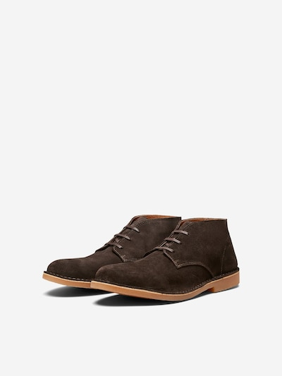 SELECTED HOMME Chukka Boots in de kleur Donkerbruin, Productweergave