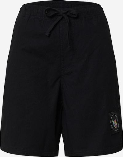 PARI Shorts de bain en noir, Vue avec produit