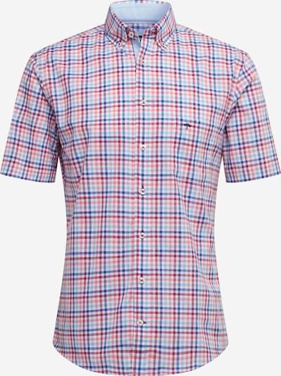 FYNCH-HATTON Hemd in blau / hellblau / rot, Produktansicht