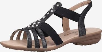 REMONTE Sandale in Grau